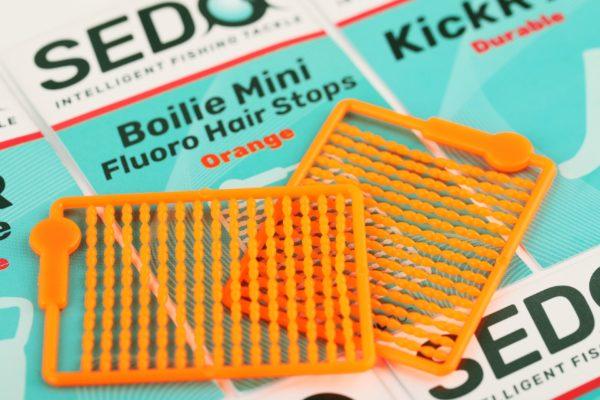 Boilie Mini Fluoro Hair Stops